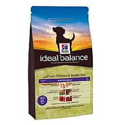 IDEAL BALANCE MATURE ADULT 7+ CANINE POLLO E RISO INTEGRALE