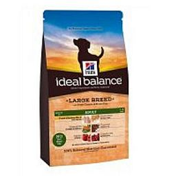 IDEAL BALANCE ADULT LARGE BREED CANINE POLLO E RISO INTEGRALE
